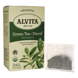 Alvita TeaGreen Tea - Decaf