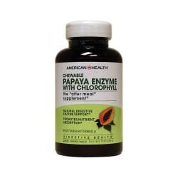 American HealthChewable Papaya Enzyme with Chlorophyll
