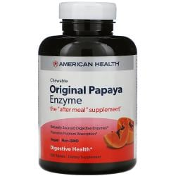 American HealthChewable Original Papaya Enzyme