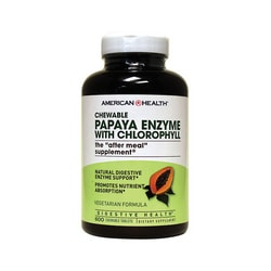 American Health Chewable Papaya Enzyme with Chlorophyll
