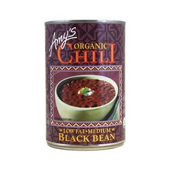 Amy's Kitchen Organic Black Bean Chili Medium