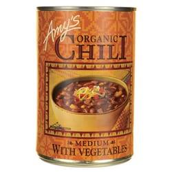 Amy's Kitchen Organic Chili with Vegetables Medium