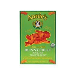 Annie'sOrganic Bunny Fruit Snacks Tropical Treat