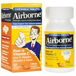 Airborne Chewables Citrus
