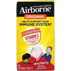 Airborne Chewable Tablets - Berry