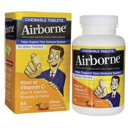 AirborneChewable Tablets - Citrus