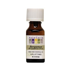 Aura Cacia Essential Oil Bergamot (Bergaptene-Free)