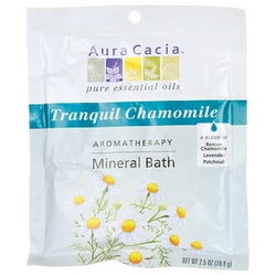 Aura Cacia Tranquil Chamomile Aromatherapy Mineral Bath