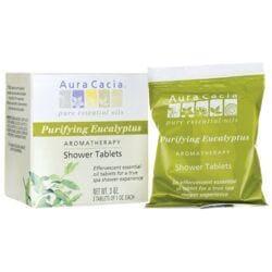 Aura CaciaShower Tablets Purifying Eucalyptus