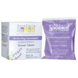 Aura CaciaShower Tablets Relaxing Lavender