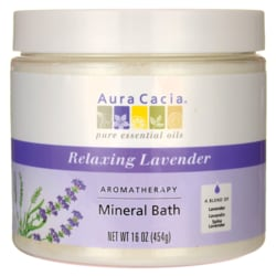 Aura CaciaAromatherapy Mineral Bath - Relaxing Lavender