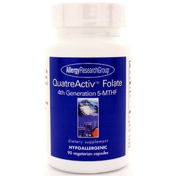 Allergy Research GroupQuatreActiv Folate 4th Generation 5-MTHF