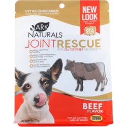 Ark Naturals Sea Mobility Joint Rescue Soft Chew Squares - Beef