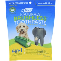 Ark NaturalsBreath-Less Chewable Brushless-Toothpaste - M/LG Dog