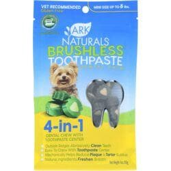 Ark NaturalsBreath-Less Chewable Brushless-ToothPaste - Mini/Sm Breeds