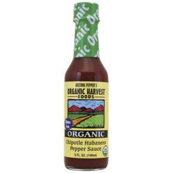 Arizona Pepper Products Organic Chipotle Habanero Pepper Sauce