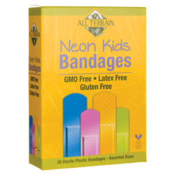 All TerrainNeon Kids Bandages - Assorted Sizes