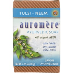 Auromere Ayurvedic Bar Soap Tulsi-Neem