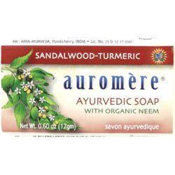 AuromereAyurvedic Soap - Sandalwood-Tumeric