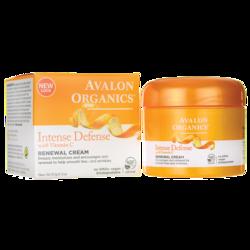 Avalon OrganicsIntense Defense with Vitamin C Renewal Cream