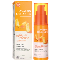 Avalon OrganicsIntense Defense with Vitamin C Facial Serum