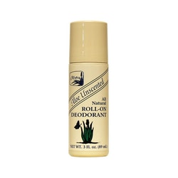 AlveraAll Natural Roll-On Deodorant Aloe Unscented