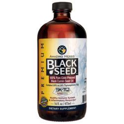 Amazing HerbsBlack Seed Cold-Pressed Oil
