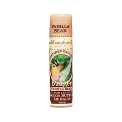 BadgerOrganic Cocoa Butter Lip Balm Vanilla Bean