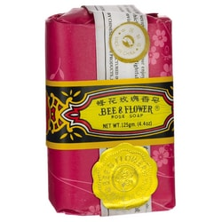 Bee & FlowerRose Soap