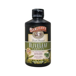 Barlean'sOlive Leaf Complex Peppermint