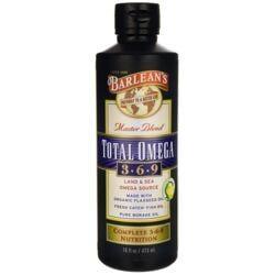 Barlean'sTotal Omega 3-6-9 Lemonade Flavor