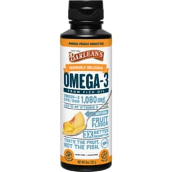 Barlean's Omega Swirl Fish Oil Mango Peach