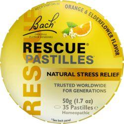 Bach Flower EssencesRescue Pastilles - Orange & Elderflower