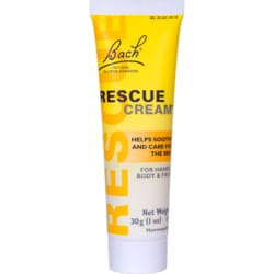 Bach Flower Essences Rescue Cream