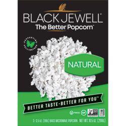 Black JewellNatural Microwave Popcorn