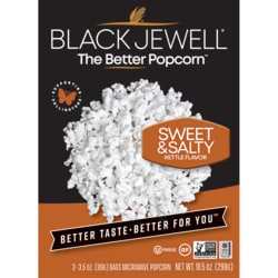 Black JewellKettle Microwave Popcorn