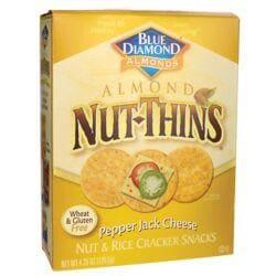 Blue DiamondAlmond Nut-Thins - Pepper Jack Cheese