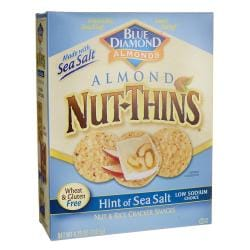 Blue DiamondAlmond Nut-Thins - Hint of Sea Salt