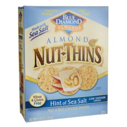 Blue DiamondAlmond Nut-Thins Hint of Sea Salt