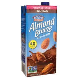 Blue DiamondAlmond Milk - Almond Breeze Chocolate Unsweetened