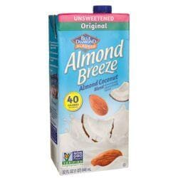 Blue DiamondAlmond Coconut Blend - Almond Breeze Original Unsweetened