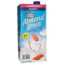 Blue DiamondAlmond Milk - Almond Breeze Coconut Vanilla Unsweetened