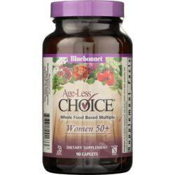 Bluebonnet NutritionAge-Less Choice Whole Food Based Multiple Women 50+