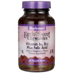 Bluebonnet NutritionEarthSweet Chewables Vitamin B6, B12 Plus Folic Acid