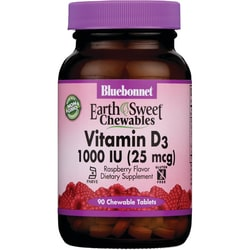 Bluebonnet NutritionEarthSweet Chewables Vitamin D3