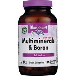 Bluebonnet NutritionIron-Free Multiminerals Plus Boron