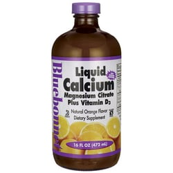 Bluebonnet NutritionLiquid Calcium Magnesium Citrate Plus Vitamin D3 - Orange