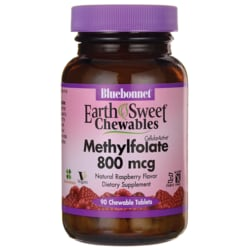 Bluebonnet NutritionEarthSweet Chewables Methylfolate