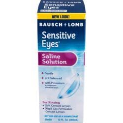Bausch & LombSensitive Eyes Plus Saline Solution