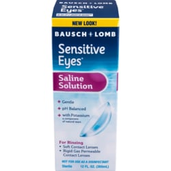 Bausch & LombSensitive Eyes Plus Saline Solution